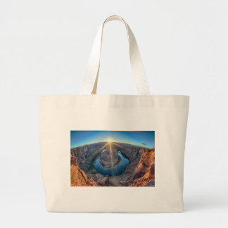 horseshoe bend arizona jumbo tote bag