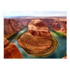 Horseshoe Bend, Arizona Photo Postcard