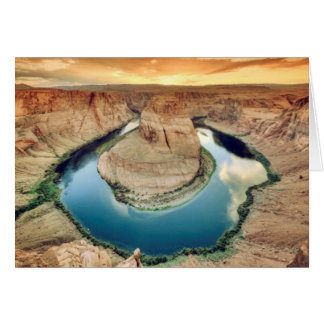 Horseshoe Bend Caynon Card