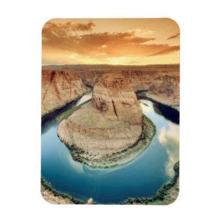 Horseshoe Bend Caynon Rectangular Photo Magnet