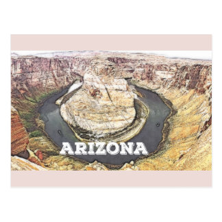 Horseshoe Bend - Grand Canyon - Arizona Postcard