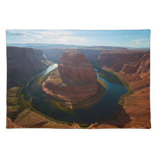 Horseshoe bend placemat