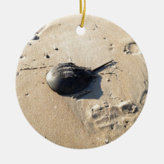 horseshoe crab christmas ornament