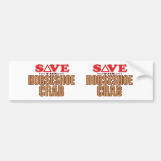 Horseshoe Crab Save Bumper Sticker