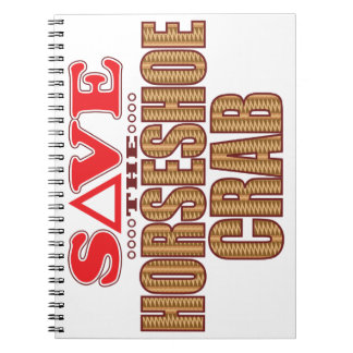 Horseshoe Crab Save Notebook