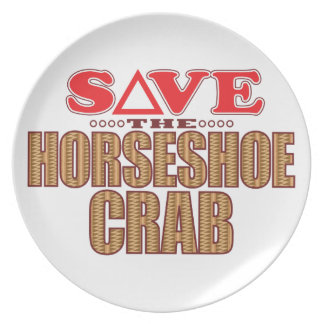 Horseshoe Crab Save Plate