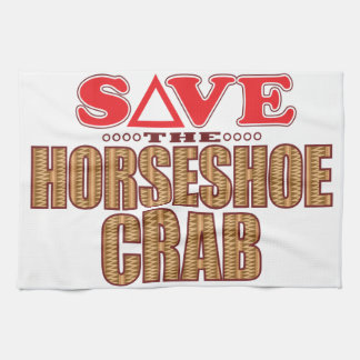 Horseshoe Crab Save Tea Towel