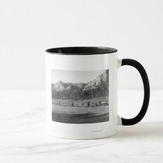 Horseshoe Curve on Burlington and Missouri Mug