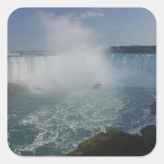 Horseshoe Falls in Niagara Falls Square Sticker
