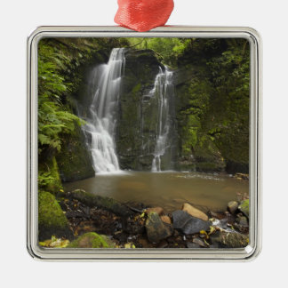 Horseshoe Falls, Matai Falls Silver-Colored Square Decoration