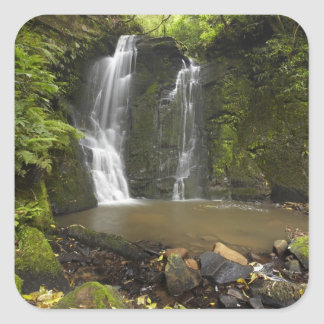 Horseshoe Falls, Matai Falls Square Sticker