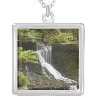 Horseshoe Falls, Mount Field National Park, Silver Plated Necklace