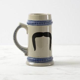 Horseshoe Mustache Beer Stein