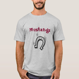 horseshoe, Mustangs T-Shirt