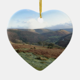 Horseshoe Pass, Denbighshire, Wales Christmas Ornament
