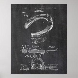 Horseshoe Patent Poster