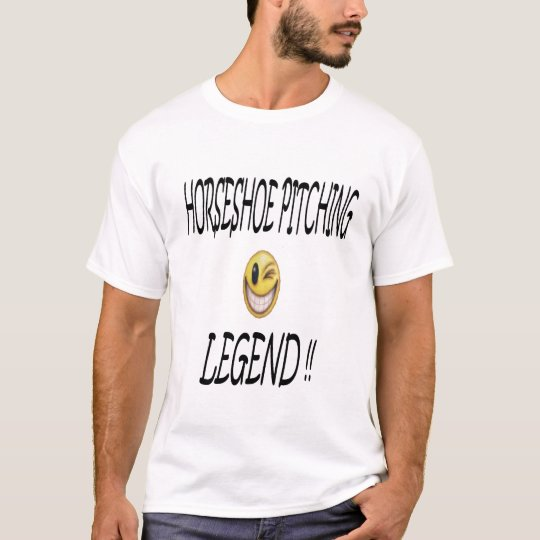 Horseshoe Pitching Legend T-Shirt