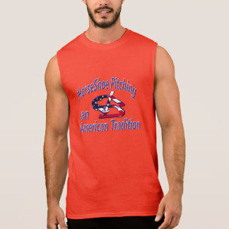 HorseShoe Pitching Sleeveless Tee