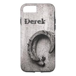 Horseshoe Vintage Western Sepia Photograph iPhone 8/7 Case