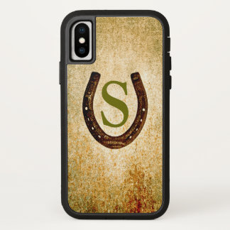 Horseshoe with Monogram to Personalize iPhone X Case