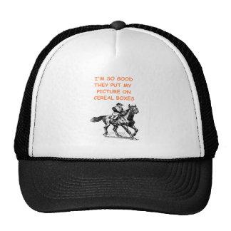 horseshoes trucker hats