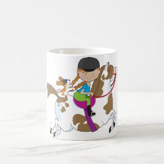 Horsey Holly Coffee Mug