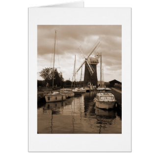 Horsey Windmill, The Broads, Norfolk. Card