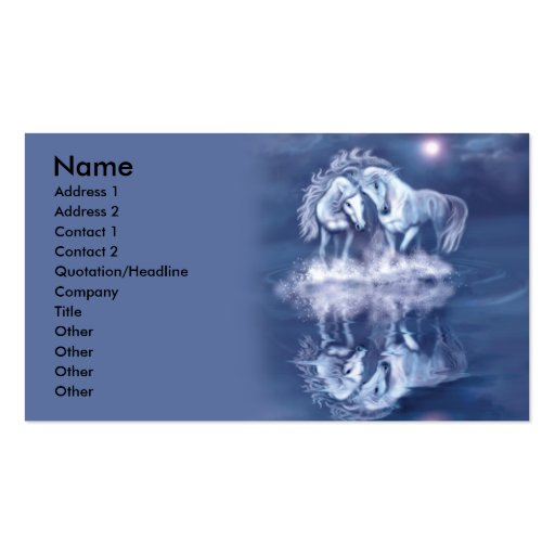 horsing-around-business-card business card