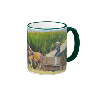 """Horsing Around"" Ringer Mug"