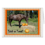 Horsy Halloween Greeting Card