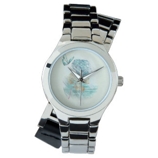 hortensia and butterfly watch