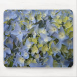 hortensia bleu tapis de souris