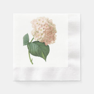 hortensia(Hydrangea sp.) by Redouté Disposable Napkin