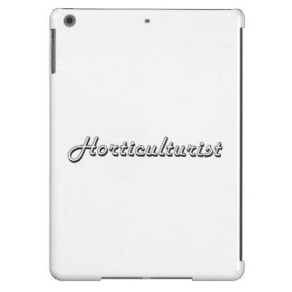 Horticulturist Classic Job Design iPad Air Case