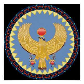 Horus, the God of Kings in Ancient Egypt Posters