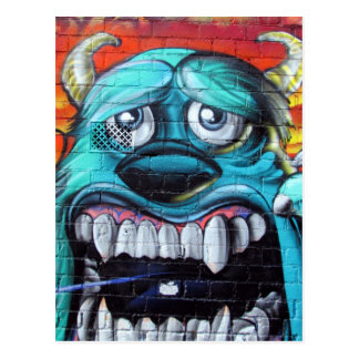 hosier lane monster postcard