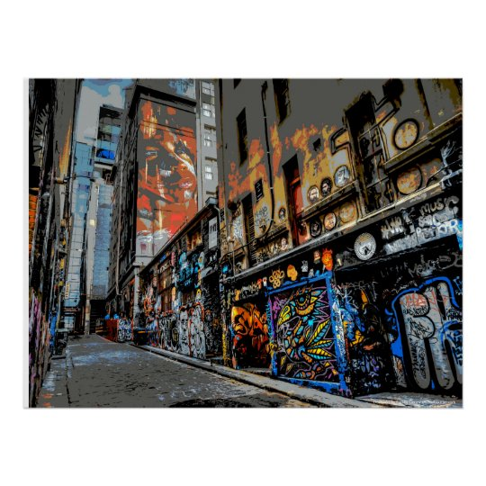 Hosier Lane's Street Art and Graffiti - Melbourne