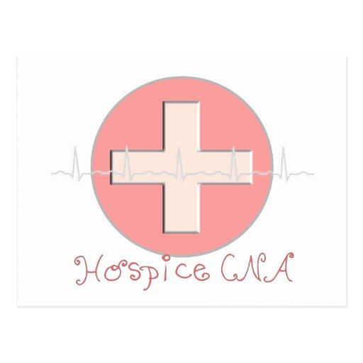 Hospice CNA Certified Nursing Assistant Postcard