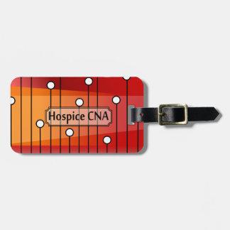 Hospice CNA Nursing Assistant Luggage Tag