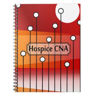Hospice CNA Nursing Assistant Spiral Note Books