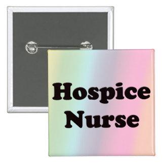 Hospice Nurse 15 Cm Square Badge