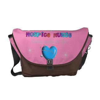 Hospice Nurse Bag Pink Courier Bags