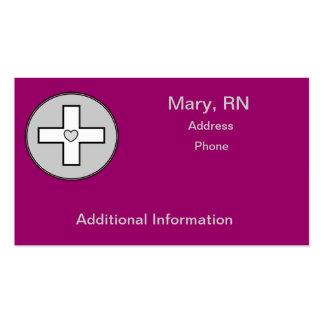 Hospice Nurse Business Cards