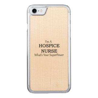 HOSPICE NURSE CARVED iPhone 8/7 CASE