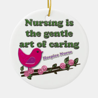 Hospice Nurse Christmas Ornament