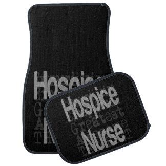 Hospice Nurse Extraordinaire Floor Mat