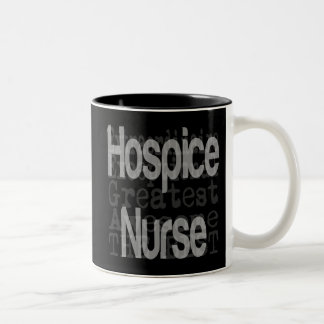 Hospice Nurse Extraordinaire Two-Tone Coffee Mug