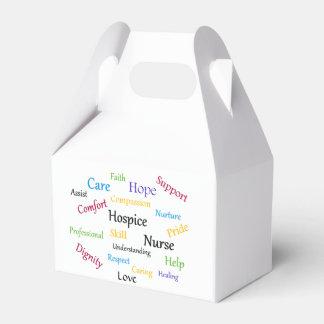 Hospice Nurse Gable Favor Box Wedding Favour Box