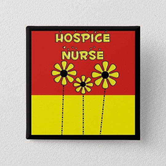 Hospice Nurse Gifts 15 Cm Square Badge