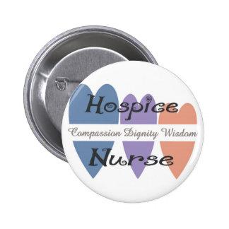Hospice Nurse Gifts 6 Cm Round Badge
